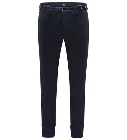 GTA Jersey-Joggpants 'Giorgio' navy schwarz