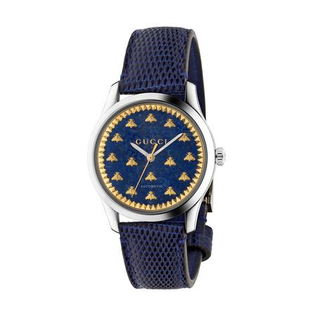 Gucci G-Timeless Uhr, 38mm grau