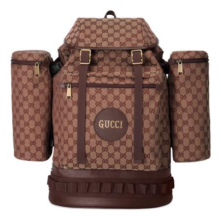 Gucci Großer Rucksack aus GGCanvas braun