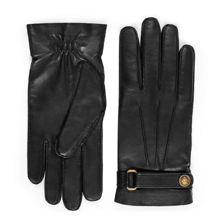 Gucci Handschuhe aus Leder schwarz