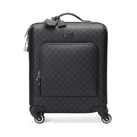 Gucci Koffer aus GG Supreme grau