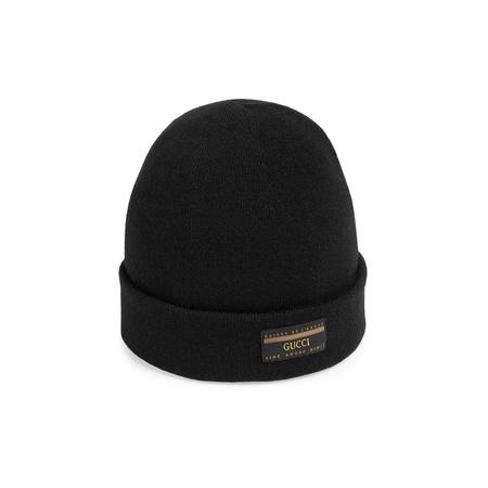 Gucci Mütze aus Wolle mit Etikett
