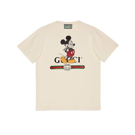 "Gucci Übergroßes ""Disney x "" T-Shirt beige"