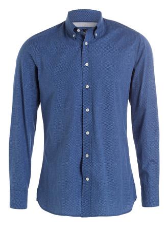 Hackett London  Hemd Slim-Fit blau