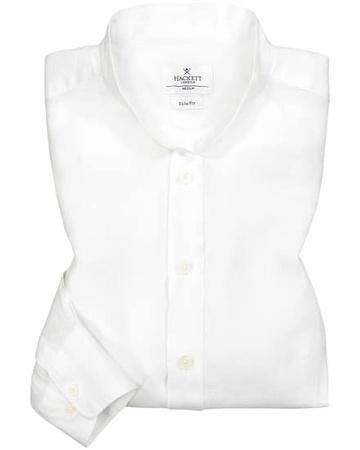 Hackett London Leinenhemd Slim Fit (Größe: L;M;XL;XXL;XXXL)