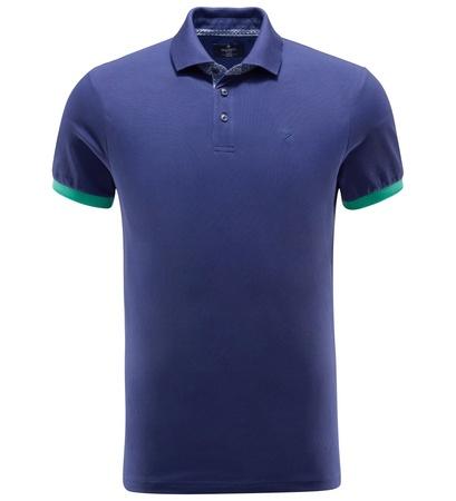 Hackett London Poloshirt dunkelblau