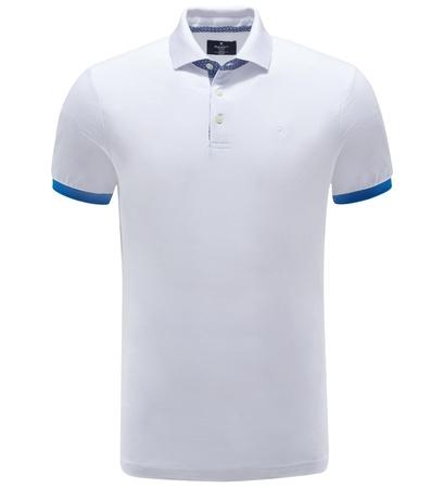 Hackett London Poloshirt weiß