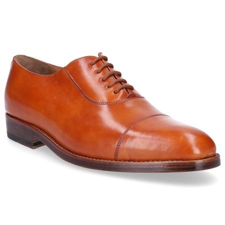 Heinrich Dinkelacker  Businessschuhe Oxford 5322 Kalbsleder  cognac orange