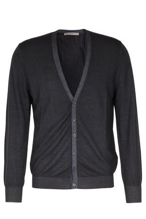 Heldmann  Merino-cardigan Herren Farbe: dunkelgrün verfügbare Größe: M|L|XL|XXL schwarz