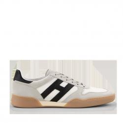 Hogan Herren Sneaker H357 Sporty Grau Weiss