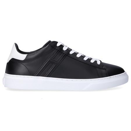 Hogan  Sneaker low BASSO  Kalbsleder  Logo schwarz lila