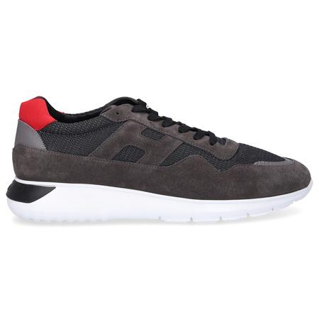 Hogan  Sneaker low INTERACTIVE 3 Logo grau rot weiß grau