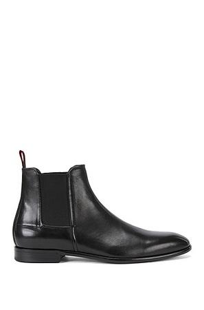 Hugo Boss Schicke Chelsea Boots aus edlem Leder