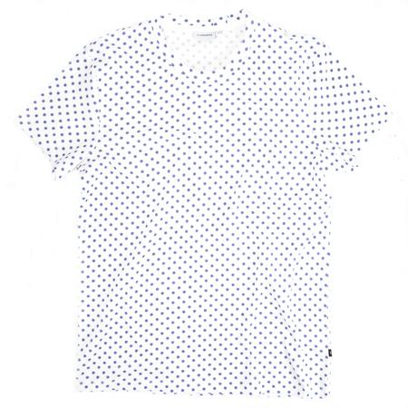 J. Lindeberg T-Shirt Blaue Punkte lila
