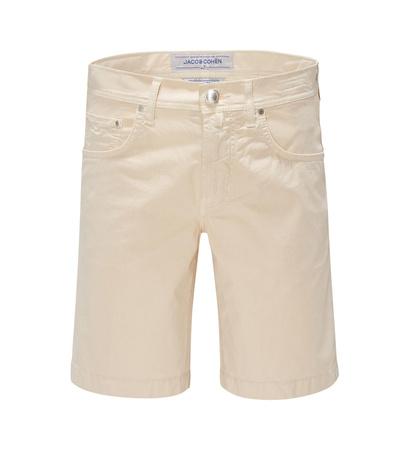 Jacob Cohën Bermudas 'J6636 Comfort Slim Fit' creme braun
