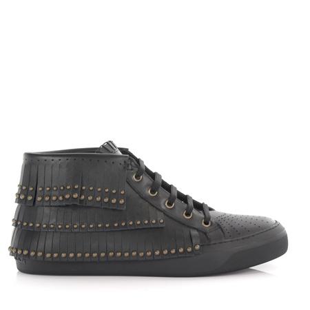 Jimmy Choo  Sneaker High Bastian schwarz grau