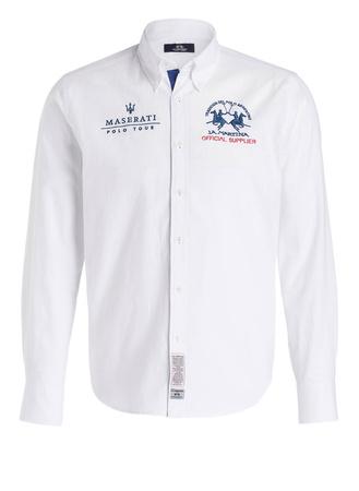 La Martina  Oxfordhemd Regular-Fit aus der POLO TOUR MASERATI KOLLEKTION