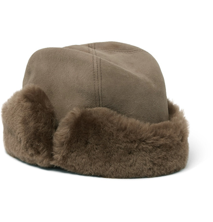 Lock & Co Hatters Vermont Shearling Hat - Brown braun