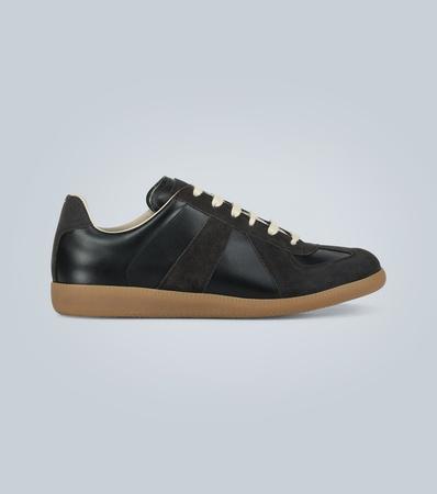 Maison Martin Margiela Sneakers Replica aus Kalbsleder grau