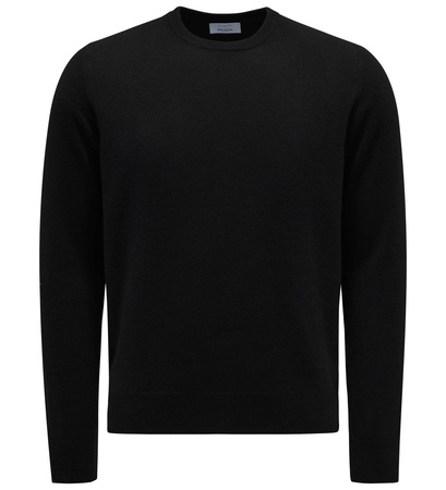Malo Cashmere R-Neck Pullover schwarz schwarz