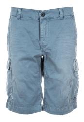 Mason's Herren Bermuda Shorts Chile Blau grau