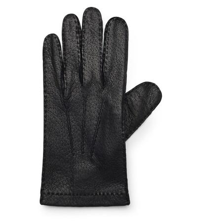 Merola Gloves Handschuhe Pekari-Leder schwarz schwarz