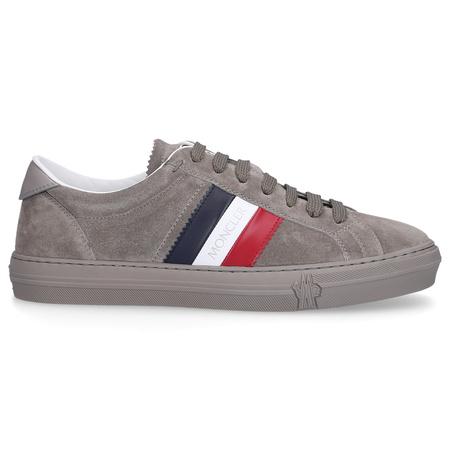 Moncler Sneaker low NEW MONACO Veloursleder Logo grau grau