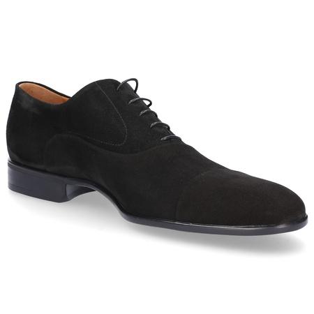 Moreschi  Oxford 039165 Veloursleder schwarz schwarz