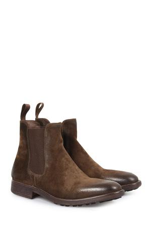 N.D.C . Chelsea-boots Spike-softy Oliva Herren Farbe: olive verfügbare Größe: 41|42|42.5|43|43.5|44|45 braun