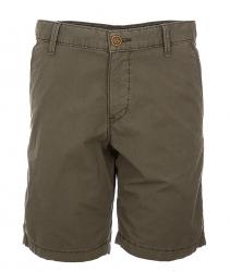 Napapijri Herren Bermuda Shorts Nayerou Popeline Olive grau