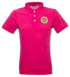 Napapijri Herren Poloshirt ELONDO kurzarm Pink pink