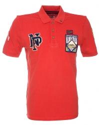 Napapijri Herren Poloshirt Evald kurzarm Rot rot