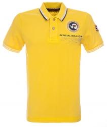 Napapijri Herren Poloshirt Gandy kurzarm Gelb orange