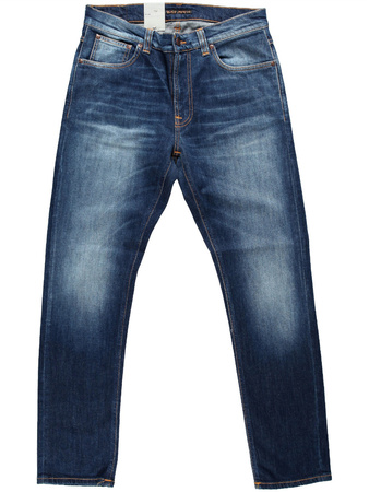 Nudie Jeans Lean Dean Blue Ridge grau