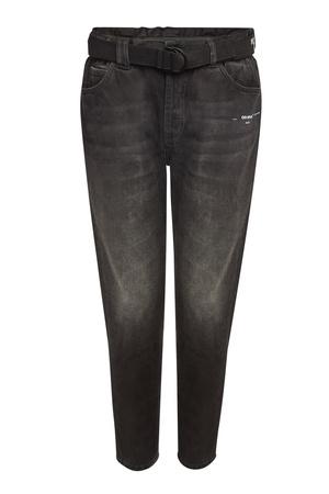 OFF-WHITE c/o VIRGIL ABLOH Off-White Bedruckte Slim Jeans grau