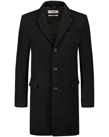 Palto Lamberto Wollmantel (Größe: 48;50;52;54;56) schwarz
