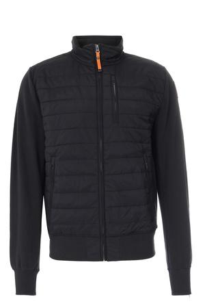 Parajumpers  Sweat-Cardigan mit gestepptem Body Schwarz Herren Farbe: schwarz verfügbare Größe: S|M|L|XL|XXL grau