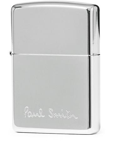 Paul Smith Stil von . Grösse: One size. Farbe: Silber.  Zippo Lighter Chrome