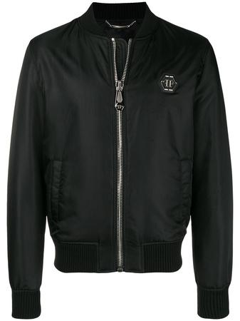 Philipp Plein  bomber jacket - Schwarz