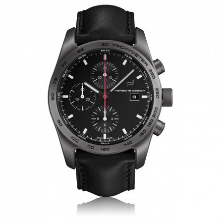Porsche Design Chronograph Titanium Ltd. Ed. schwarz