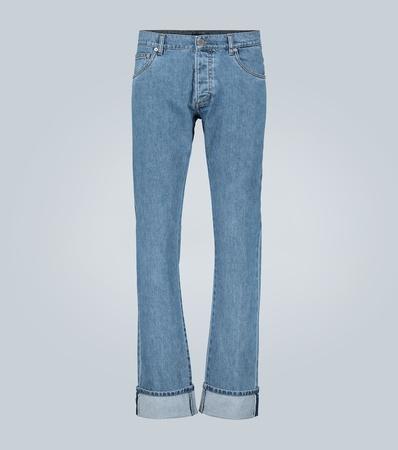 Prada Jeans mit geradem Bein grau
