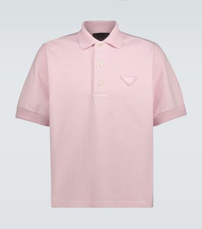 Prada Poloshirt aus Baumwolljersey