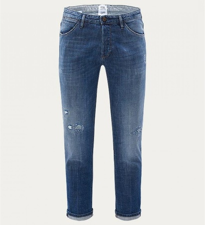 PT 05 Jeans 'Reggae Tapered Fit' blau grau