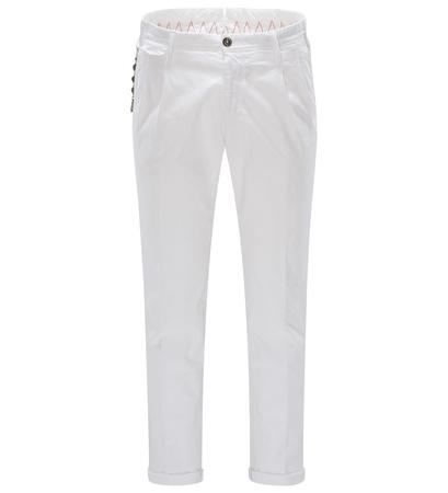 PT Torino Baumwollhose 'Arial' weiß grau