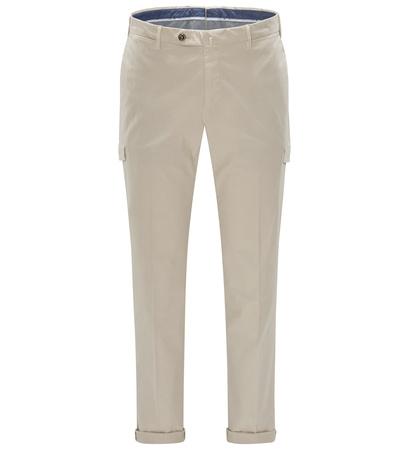 PT Torino Cargohose 'Slim Fit' beige braun