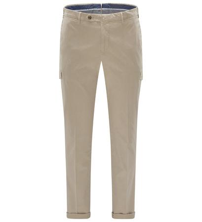 PT Torino Cargohose 'Slim Fit' khaki braun