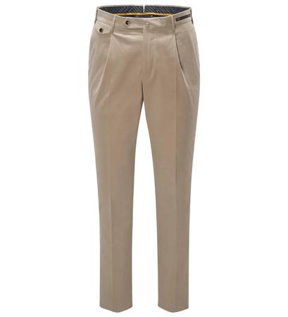 PT01 Pantaloni Torino Chino 'Gentleman Fit' beige braun