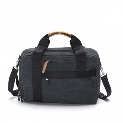 Qwstion Office Tasche New Washed Black grau