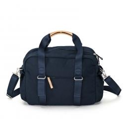 Qwstion Reisetasche Overnighter Organic Navy Blau grau