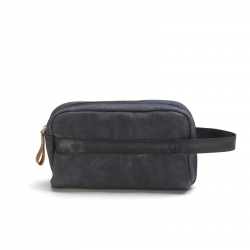 Qwstion Travelkit Washed Black grau